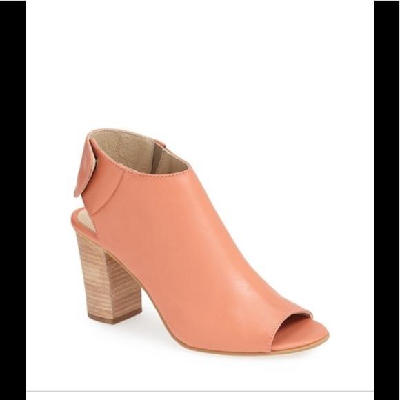42dae17fdfe 🌟Steve Madden nonstp coral peep toe ankle boot🌟.  M 5b2042ff819e9032bc1e0e90